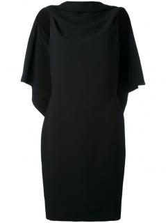 Gareth Pugh Draped Open Back Dress