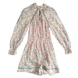 Zimmermann printed playsuit