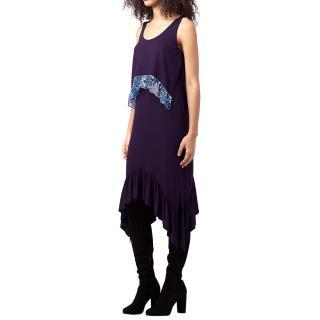 Diane von Furstemberg asymmetric Perri dress