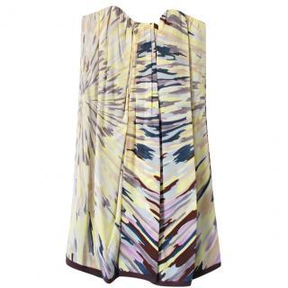 Missoni Silk Strapless Dress