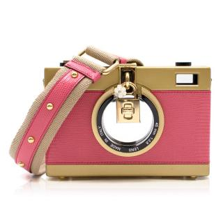 Dolce & Gabbana Pink Camera Bag