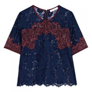 Sandro Lace Top