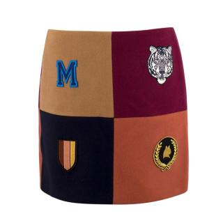 Stella McCartney Moana Melton Mini Skirt