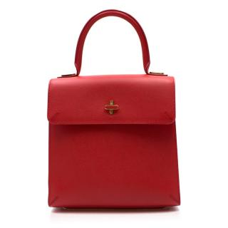 Charlotte Olympia Medium Red Bogart Bag