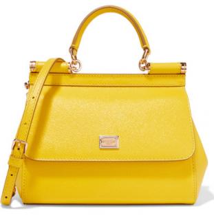 Dolce & Gabbana Classic Yellow Sicily bag