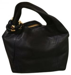 Jimmy Choo black shoulder bag