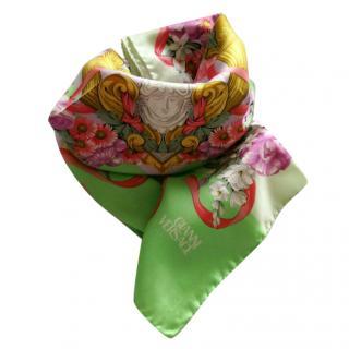 Gianni Versace vintage silk scarf