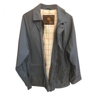 Loro Piana Men's Blue Horsey Jacket