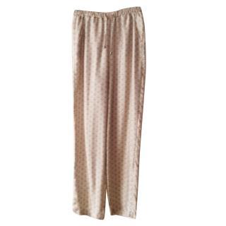 MaX Mara Silk Pyjama Bottoms