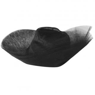 Stephen Jones 1 x Dover Street Market Black Wave Layered Mesh Hat