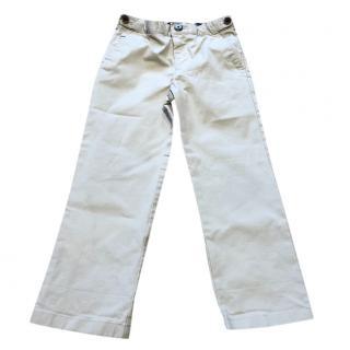 Aquascutum boy's beige formal trousers