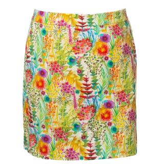 Liberty of London for J.Crew Fresco floral skirt