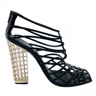 YSL Cage Shoes