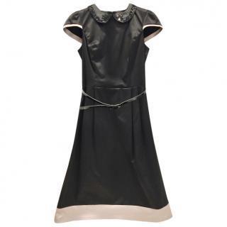 Desperado Black Peter Pan Collar Dress