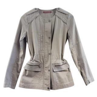 Comptoir Des Cotonniers Ressia Khaki Jacket