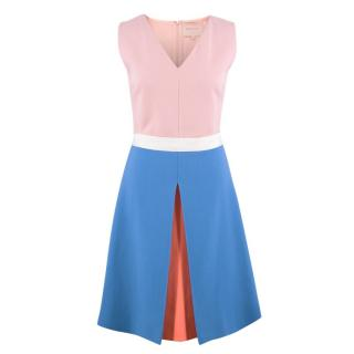 Roksanda Silk Colour Block Dress