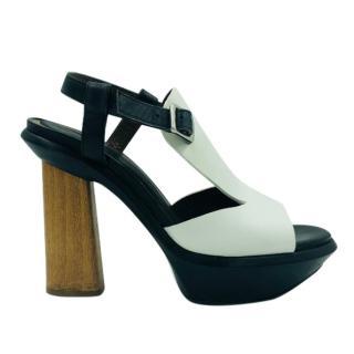 Marni Wooden Heel Sandals
