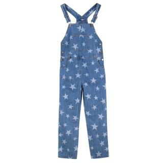 Stella McCartney Girl's Star Dungarees