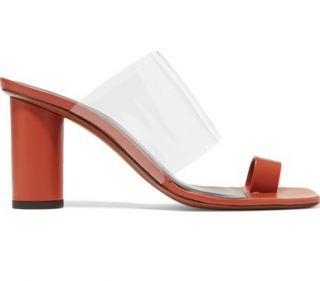 Neous Chost Leather and PVC Sandals