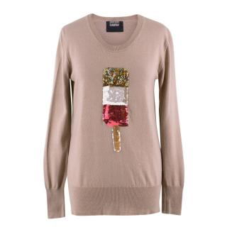 Markus Lupfer Sequinned Fab Lolly Merino Wool Jumper