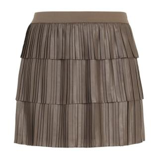 BCBG Max Azria Zana tiered pleated skirt