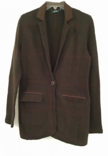 Lauren Ralph Lauren brown wool jacket