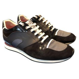 Dior Men's Navy Sneakers