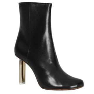 Vetements Black & Gold Lighter Heel Boots