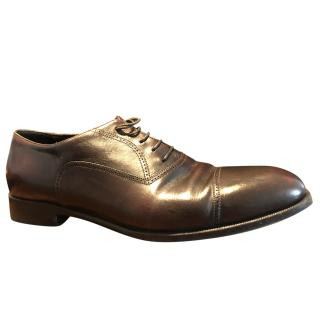 Armani Men's Brown Leather Brogues