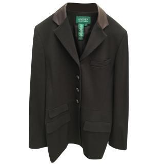 Lauren Ralph Lauren Leather & Wool Jacket