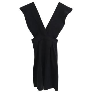 Tara Jarmon Mademoiselle Wool Black Dress