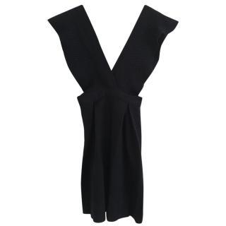 Tara Jarmon Mademoiselle Wool Black Dress