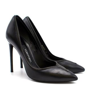 Tom Ford Current Season Zip Pumps
