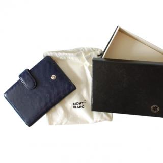 Mont Blanc Leather Credit Card Case