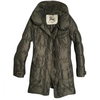 Burberry puffer coat
