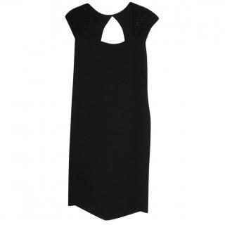 Ralph Lauren Embellished Black Dress