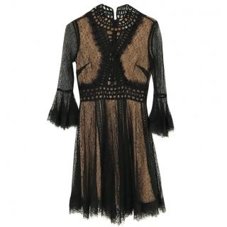 Jonathan Simkhai Black lace dress