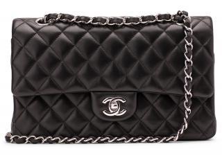 Chanel Classic Black Double Flap Bag