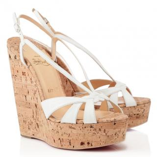 Christian Louboutin Wedgy Lady Sandals