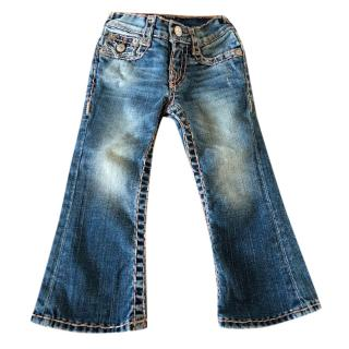 True Religion unisex Kids Toddler Jeans