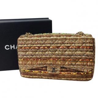 Chanel Tweed Jumbo Flap Bag