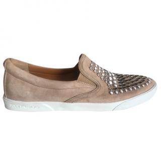 Jimmy Choo Embellished Suede Shoes
