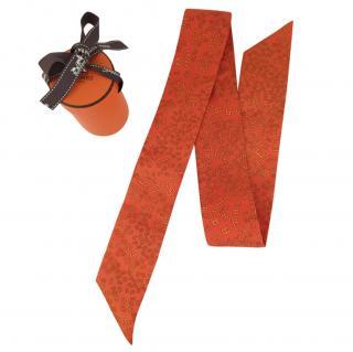 Hermes Orange Twilly