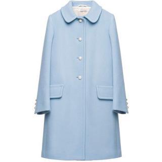 Miu Miu Pearl Buttons Coat
