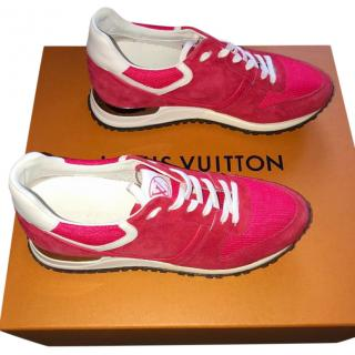 Louis Vuitton Red Runaway Trainers