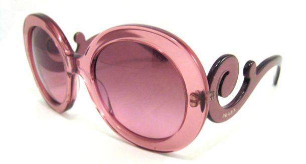 Prada SPR 27N Baroque Sunglasses