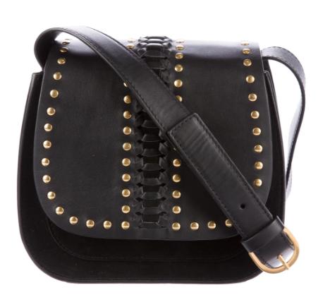 bfdbdb962a Belstaff X Liv Tyler Black Leather Aletta Bag | HEWI London