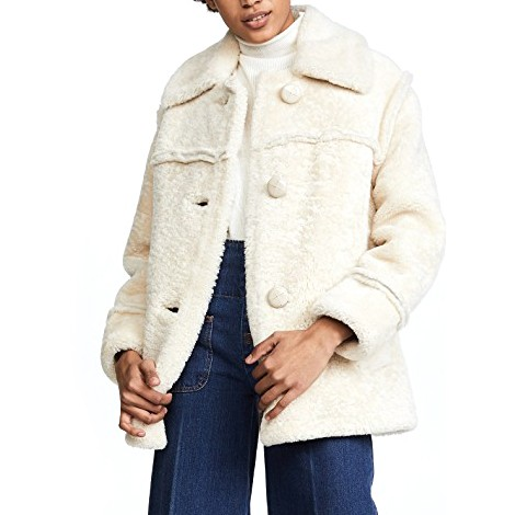 Coach 1941 Lamb Shearling Coat