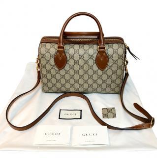 Gucci top handle boston bag