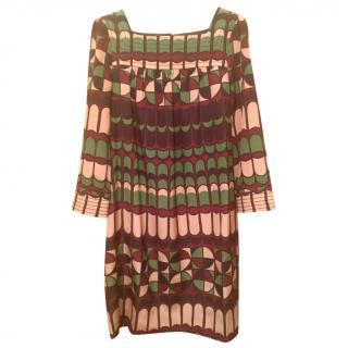 M Missoni geometric pattern dress